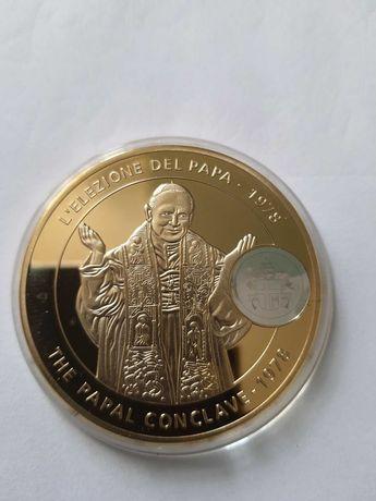 Medal Karol Józef Wojtyła Conclave 1978 rok w kapslu