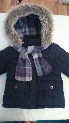 Курточка с шарфиком осень /зима