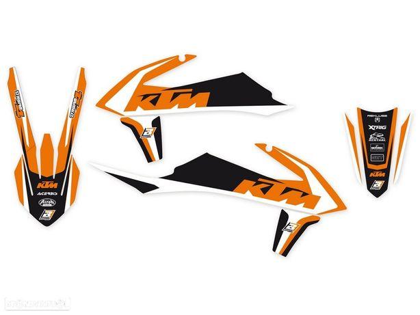 kit autocolantes blackbird dream 4 ktm exc / sx