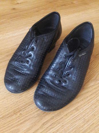 Туфли для танцев кожаные, 35 (23) размер. Туфли для джаза
