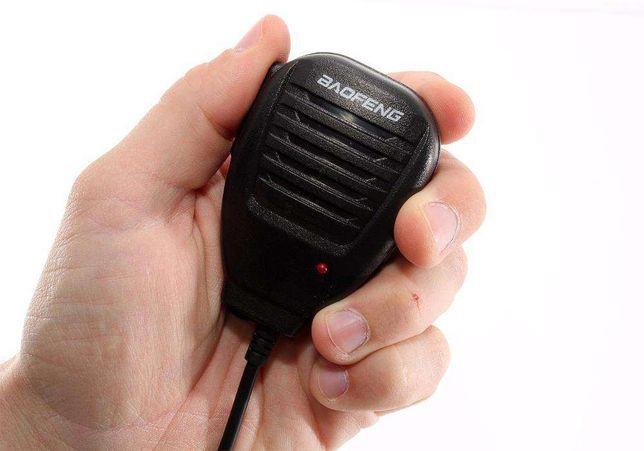Portadora Micro PTT para Radio Walki Talkie Baofeng Kenwood Etc...