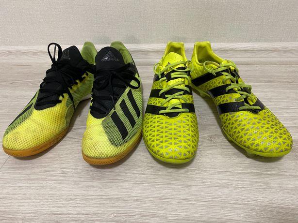 Adidas X19.3 Ace16.2 predator бутсы футзалки сороконожки