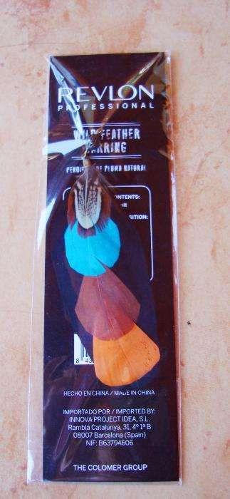 Brinco de penas de ganso Revlon Almada, Cova Da Piedade, Pragal E Cacilhas - imagem 1