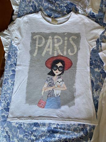 T-shirt menina, Zara, 6/7 anos 122cm