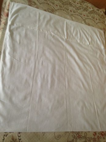 Наволочки білі бавовняні 80х80 см, нові