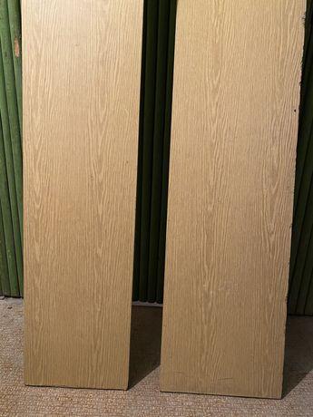 Новые деревянные оконные рамы (сосна), мебельная доска ДСП