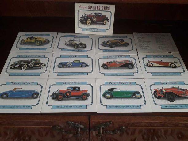 Набор открыток Classik SPORTS CARS.