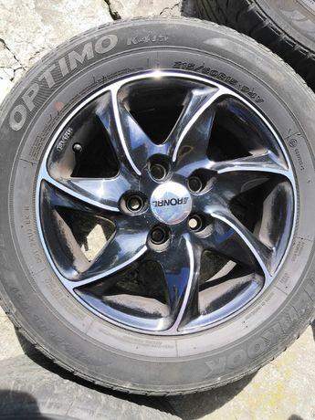 Felgi aluminiowe czarne Ronal R51 15'' jak nowe
