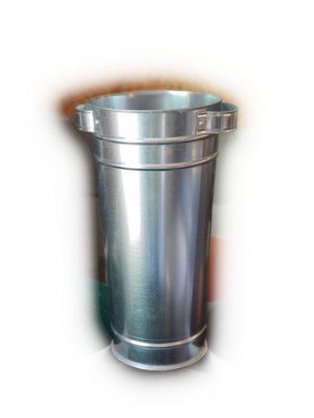 Ведро (ваза) для цветов из оцинкованной и нержавеющей стали