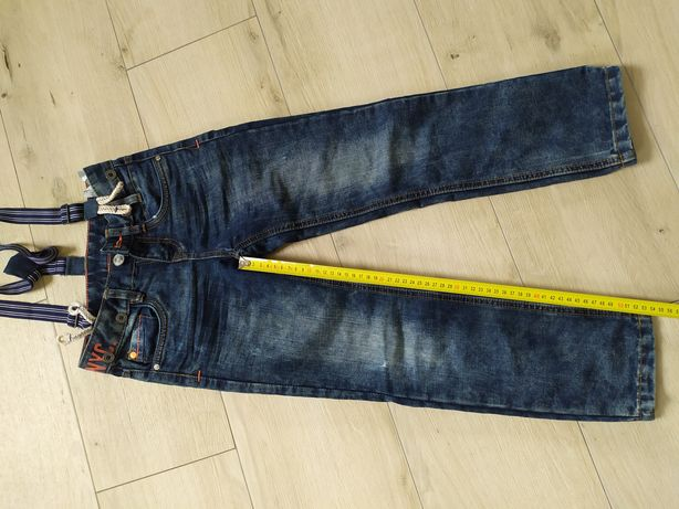 Spodnie dżinsowe chłopięce 134