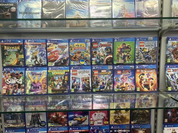 Lego Marvel 2,Movie 2,City на PS4. Все части. Игры для детей на PS 4
