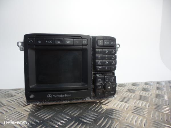 Auto-Rádio (Gps) Mercedes-Benz S-Class (W220)