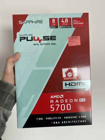Nowa F-Vat gwarancja Sapphire Radeon Pulse RX 5700 XT / BE 8GB