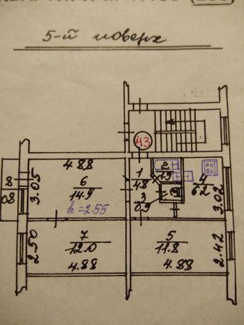 Продаж 3-км квартири(власник)