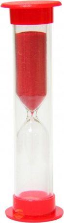 Песочные часы новые на 1 мин. красные