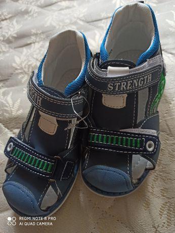 Ортопедичні босоніжки, сандалі на хлопчика