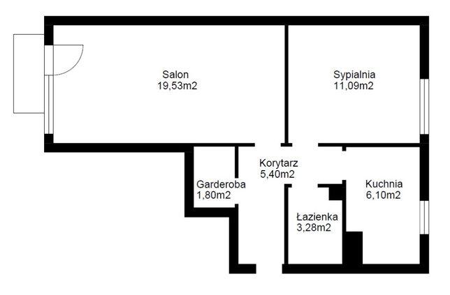 Dobrze skomunikowane mieszkanie Chylońska