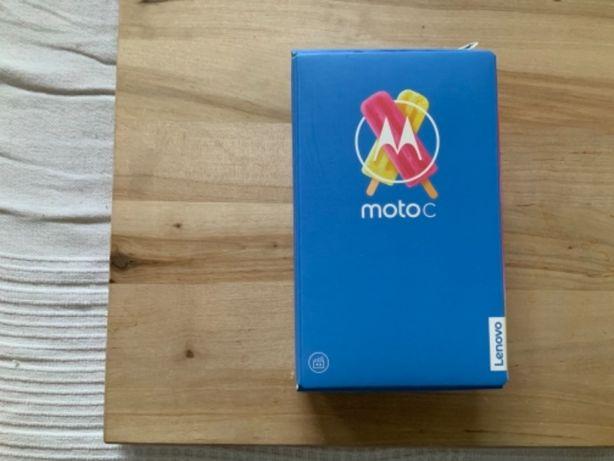 MOTOROLA MOTO C telefon Nowy XT1754 komplet