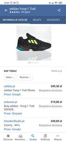 Buty. Adidas.