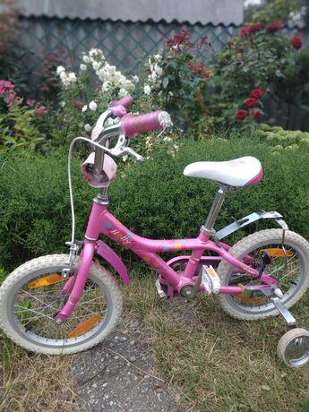 """Детский розовый велосипед Giant holly 16"""""""