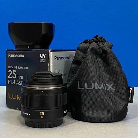 Panasonic Leica DG Summilux 25mm f/1.4 ASPH - MFT - Micro 4/3 (NOVA)