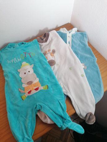 Lote de 3 pijamas