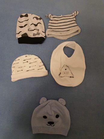 Czapeczki dla niemowlaka Wiosna/Jesień 56 rozmiar