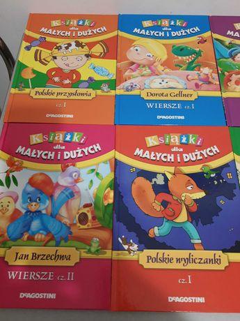 Książki dla małych i dużych kolekcja DeAgostini