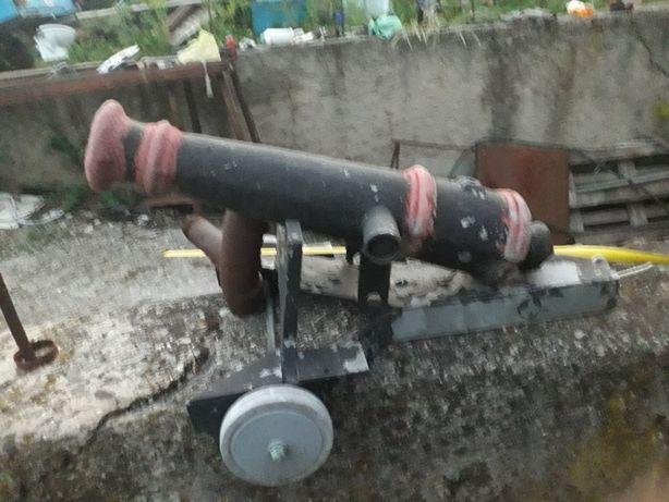 Макет пушки металл