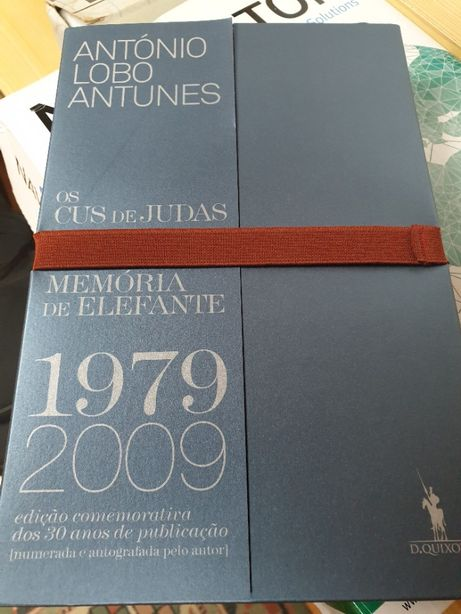 Edição comemorativa Antonio Lobo Antunes