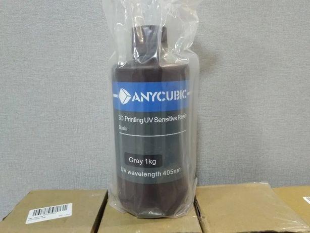 Anycubic фотополимерная смола UV Resin 1кг 3D Принтер в наличии