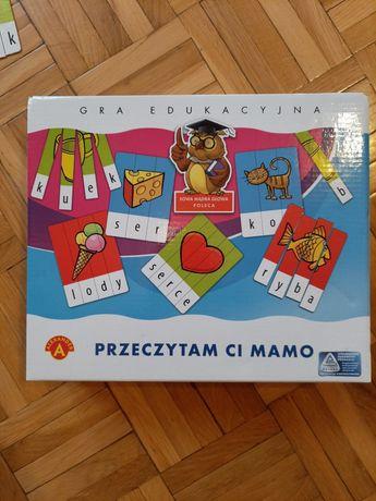 Gra edukacyjna Przeczytam Ci Mamo