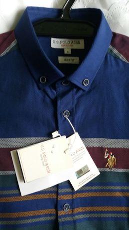 U.S. Polo NOWA Koszula komplet metek Unikat Na PREZENT
