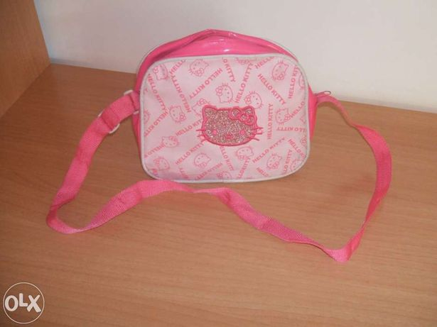 Bolsa da Hello Kitty rosa