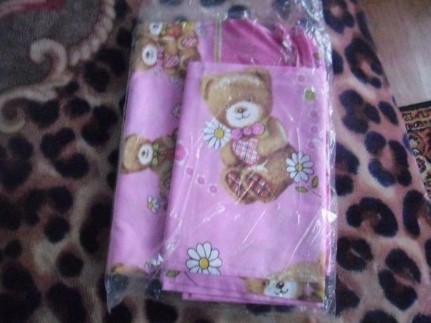 детский постельный комплект для девочки