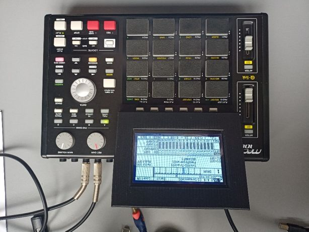 AKAI MPC 1000 Sampler + Tuning duży ekran + 128MB RAM + Dysk 40gb