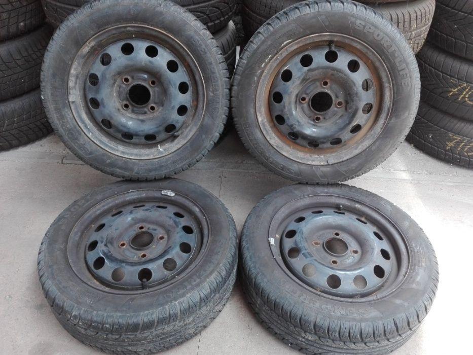 """1359. Ford Fiesta Mk3 koła 14"""" letnie 185/55/14 4x108 ET47.5 Toruń - image 1"""