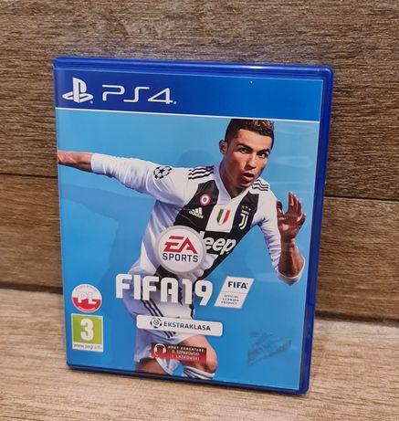 Gra FIFA 19 na Playstation 4 PS4