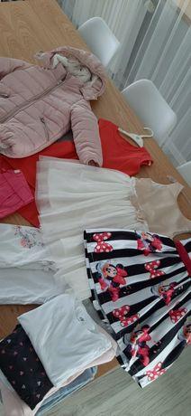 Ubranka dla dziewczynki roz.104