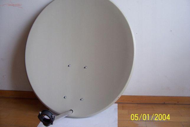 Antena satelitarna nowa 80cm USTAWIANIE ANTEN TV-SAT.