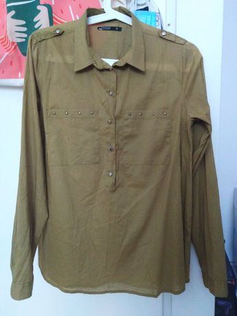 Khaki koszula Reserved