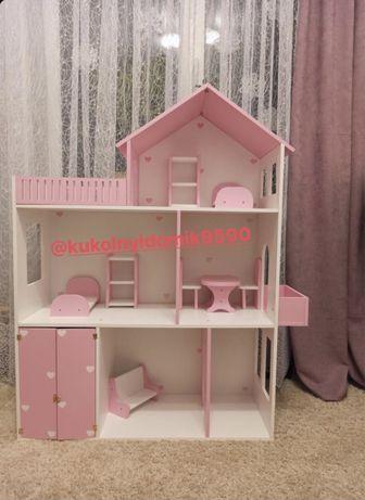 Кукольный домик Домик для игрушек Домик для кукол