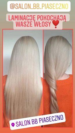 Odbudowa włosów- Zabieg Laminacji