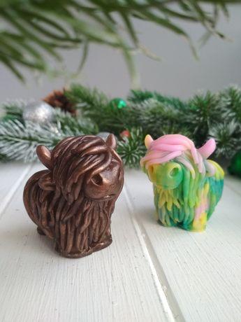 Шотландский бык символ года для вашего малыша на новый год