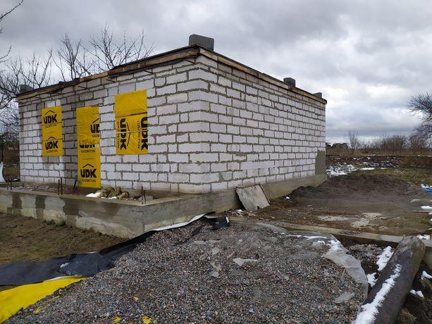 Продам недобудований будинок! !