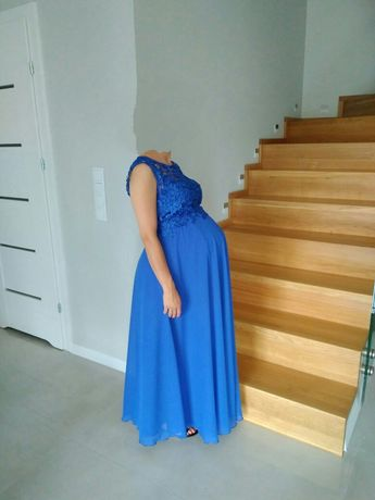 Sukienka ciążowa wizytowa na wesele