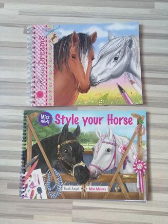Zestawy kreatywne Konie i Top Model