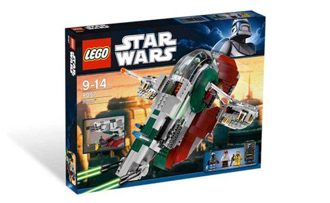 Lego Star Wars 8097 - Slave 1 Б/у набор (оригинал )