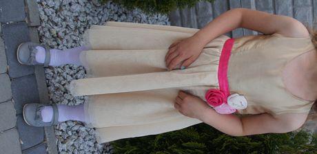 Złota sukienka 128