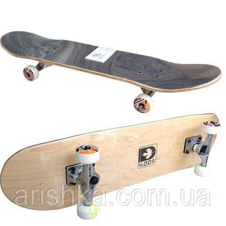 Скейт, скейтборд, Канадский клён (натуральное дерево) для трюков